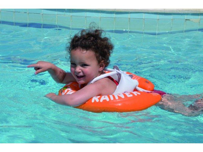 Plávacie koleso Swimtrainer Classic oranžové