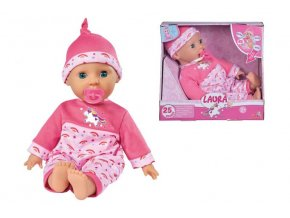 Bábika Laura Tickle Baby 38 cm