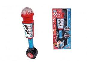 Elektronický mikrofón 28 cm, vstup pre MP3