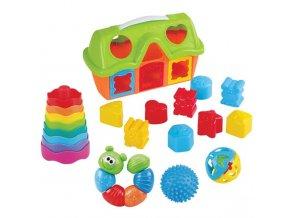 Vkladačka + set hračiek