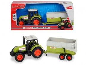 Traktor CLAAS s prívesom