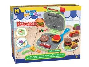 Veselá plastelína burger 4x56g 2