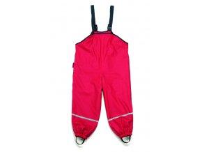 PLA - Nohavice do dažďa - červené