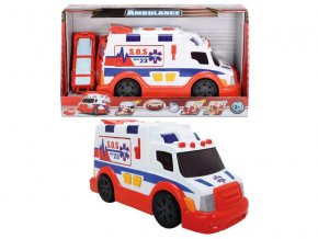 AS Ambulancia 33cm, svetlo, zvuk