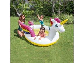 Intex nafukovací detský bazénik Mystický jednorožec so sprškou 57441