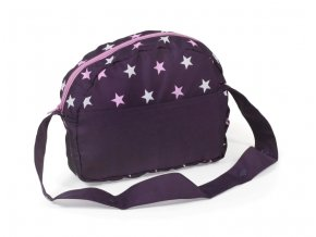 Prebaľovacia taška Stars lila
