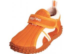 PLA Topánky na kúpanie veľkosť 22 23 oranžové