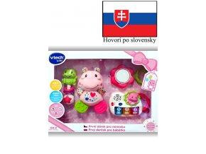 Vtech Prvý darček pre bábëtko (SK) ružový