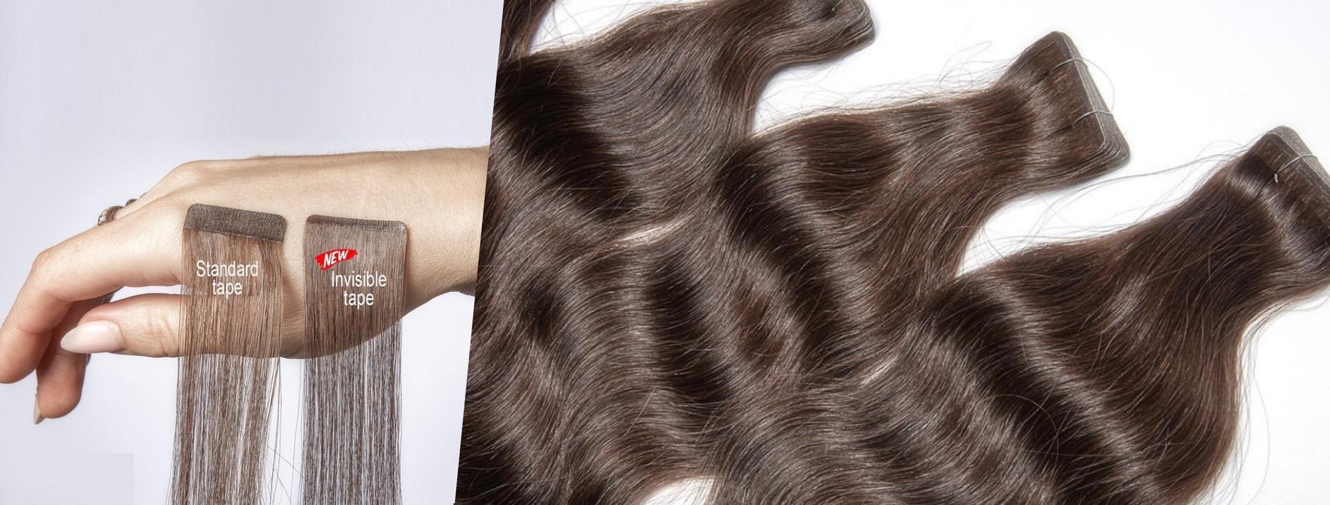 Slovanské vlasy - pasky invisible