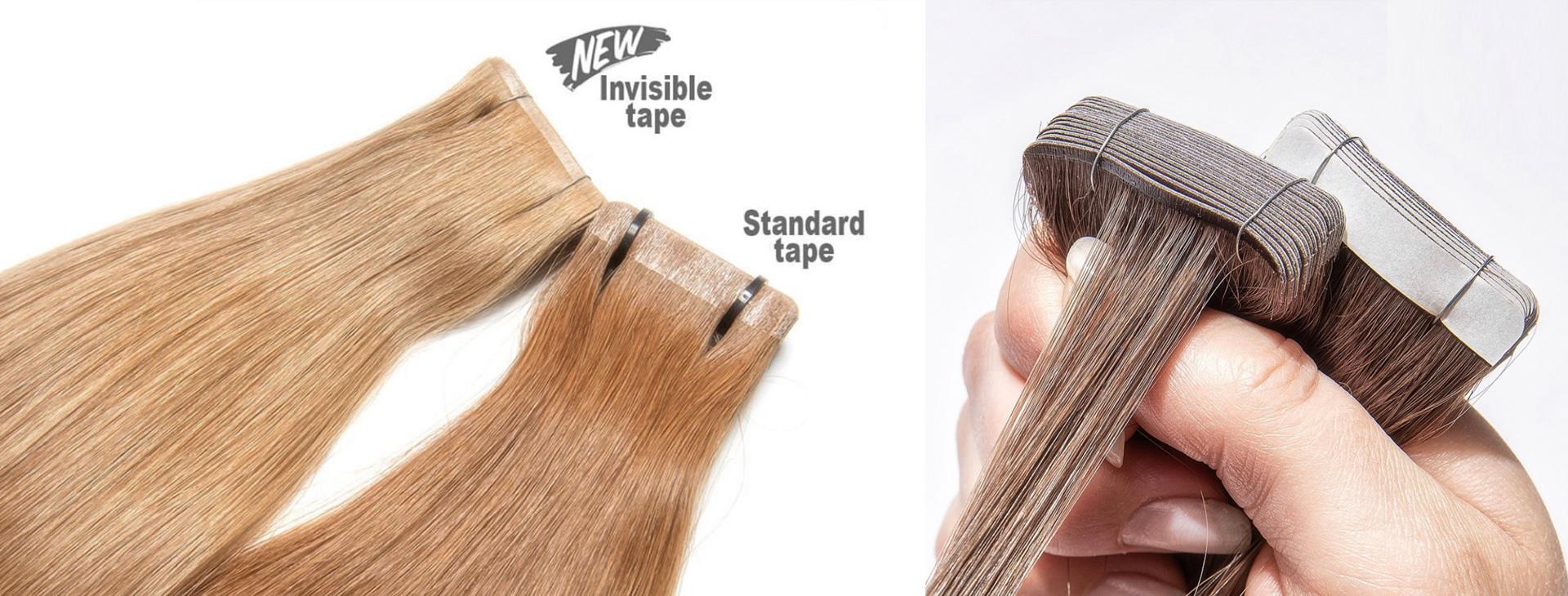 Slovanské vlasy - pasky invisible 2