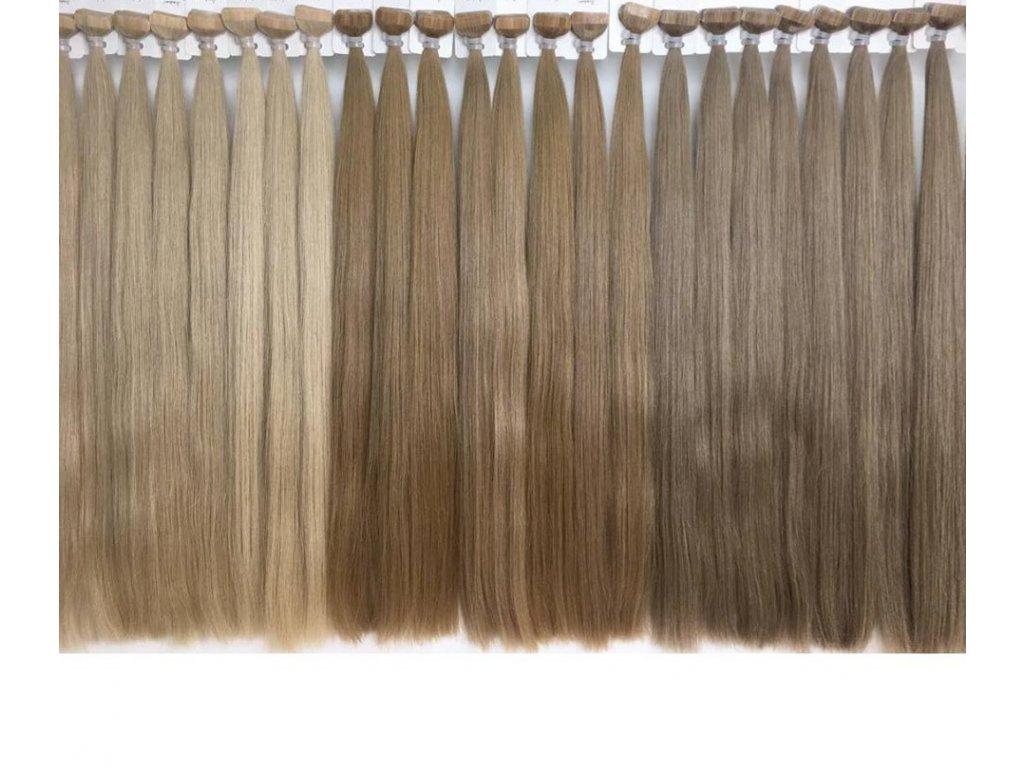 Vlasové pásky rovné