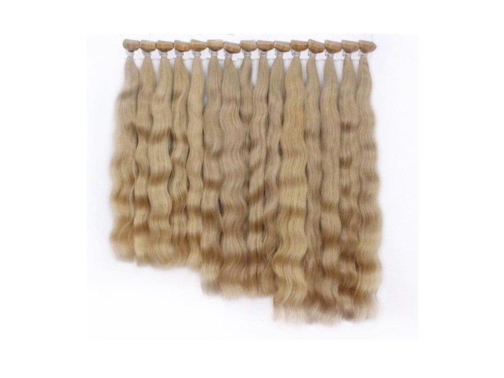 Vlasové pásky vlnité