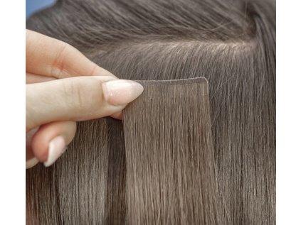 Neviditelné vlasové pásky - rovné - 40 cm
