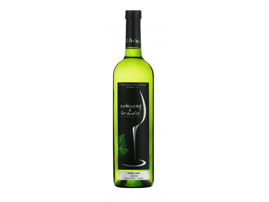 Dubovský & Grančič - Riesling 2020 - Bílé víno - Pozdní sběr