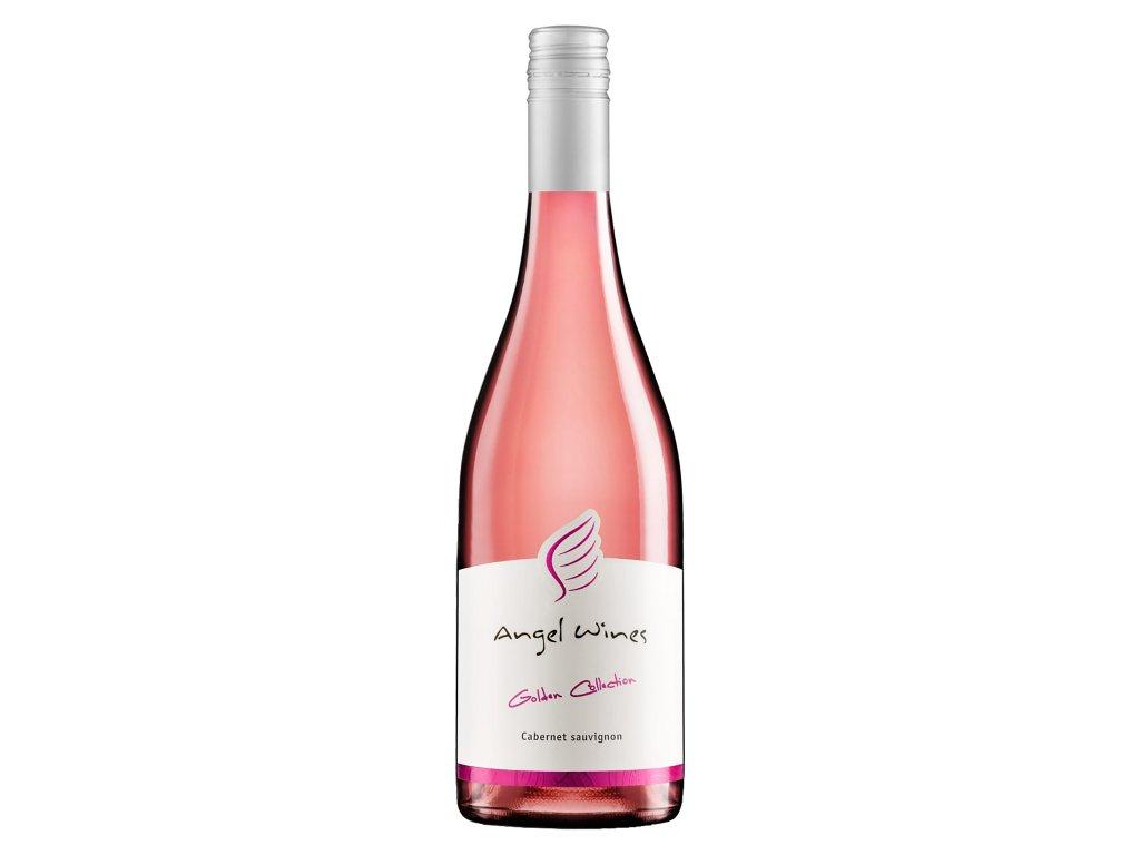 Angel Wines - Cabernet Sauvignon rosé 2019 - Růžové víno - Jakostní víno VOC