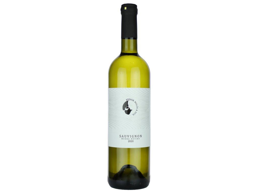 Fedor Malík - Sauvignon 2020 - Bílé víno - Jakostní víno VOC