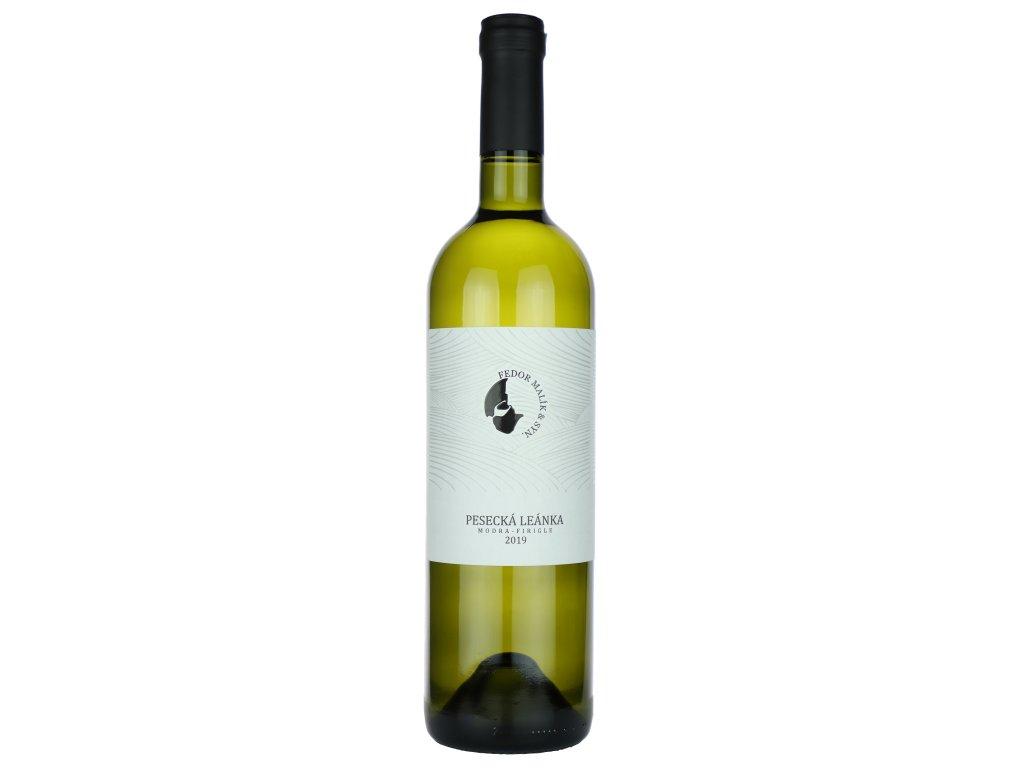 Fedor Malík - Pesecká leánka 2019 - Bílé víno - Jakostní víno VOC