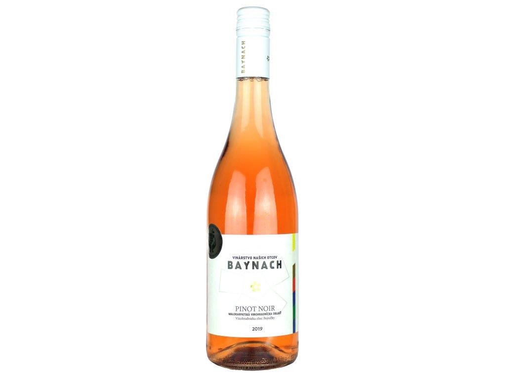 Baynach - Pinot Noir rosé 2019 - Růžové víno - Jakostní víno VOC