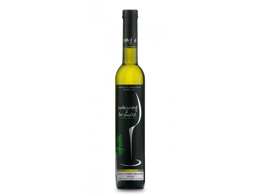 Dubovský & Grančič - Veltlínske Zelené  2016 - Bílé víno - Výběr z bobulí