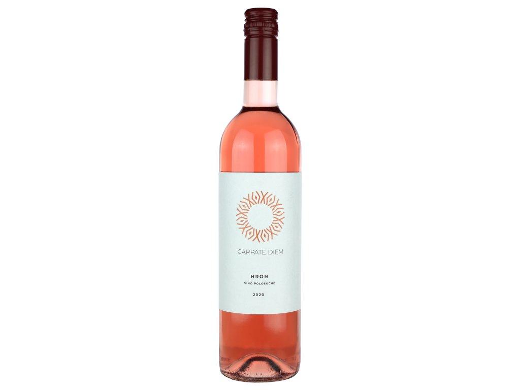 Carpate Diem - Hron rosé 2020 - Růžové víno - Jakostní víno VOC