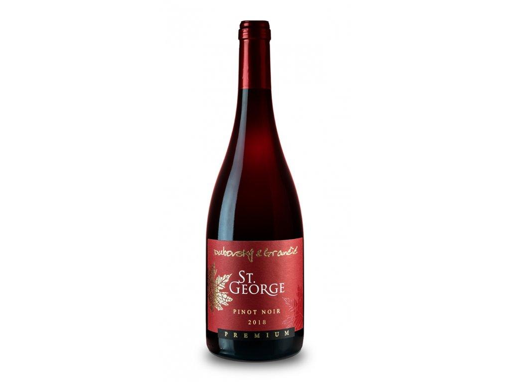 Dubovský & Grančič - Rulandské modré - Pinot Noir 2018 - St. George edition - Červené víno - Výběr z hroznů