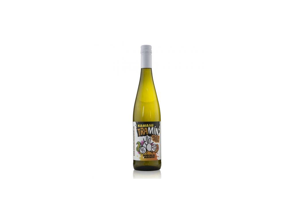 Durgala a Budínsky - Kamasu Tramín 2020 - Bílé víno - Jakostní víno