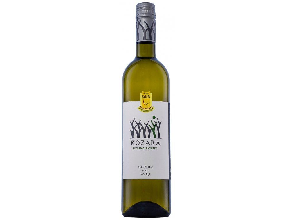 Kozara - Ryzlink rýnsky 2019 - Bílé víno - Pozdní sběr