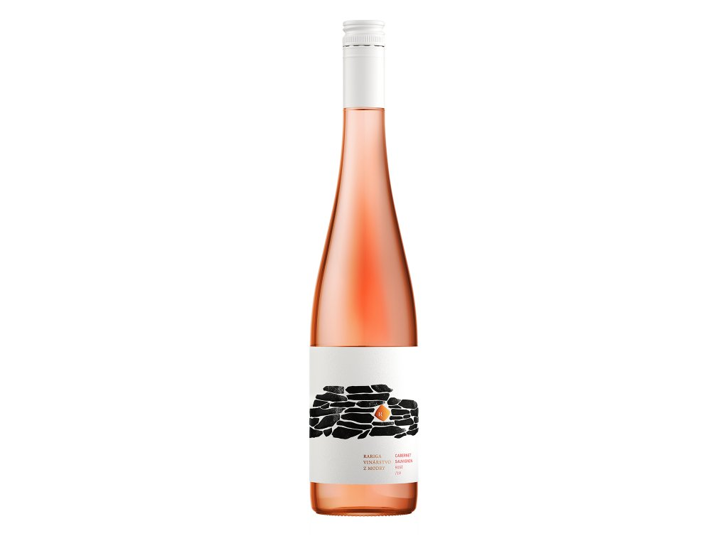 Rariga - Cabernet Sauvignon rosé 2019 - Růžové víno - Jakostní víno VOC