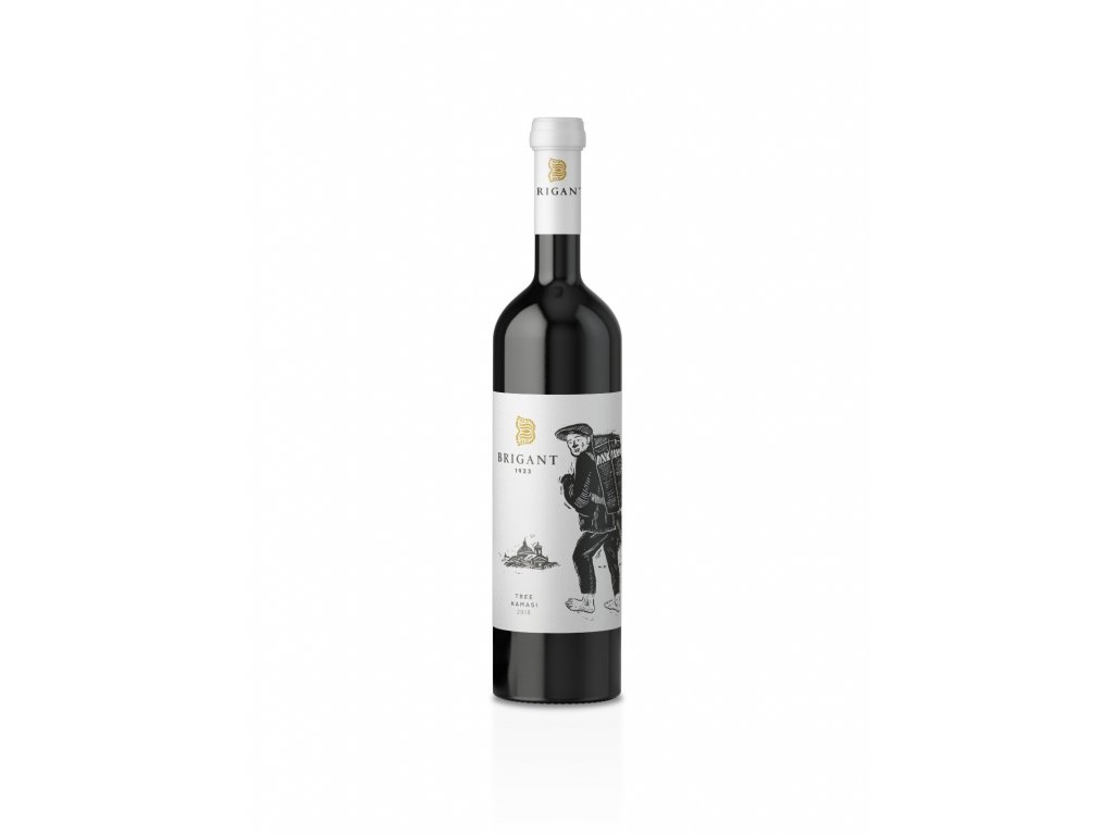 Brigant - Tree kamasi 2018 - Bílé víno - Jakostní víno