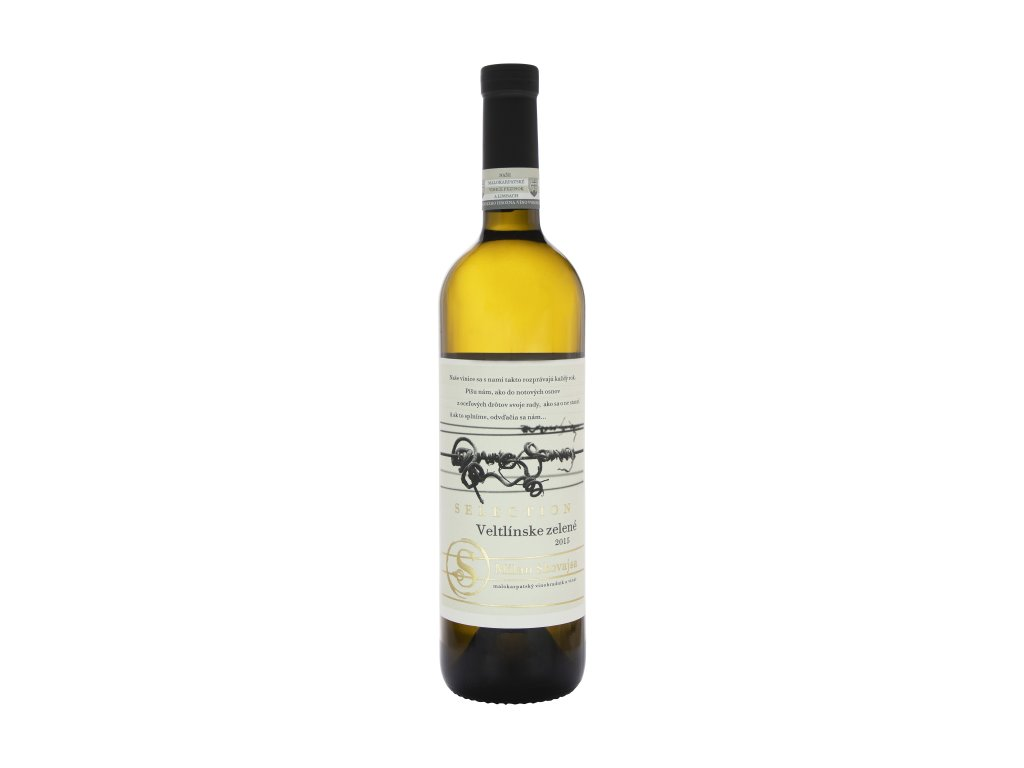 Skovajsa - Veltlínské Zelené 2015 - Selection - Bílé víno - Jakostní víno VOC