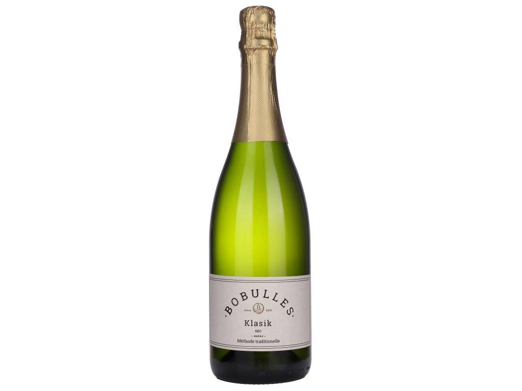 Bobulles - Sekt Cuvée Klasik SEC 2019 - Šumivé víno - Jakostní víno