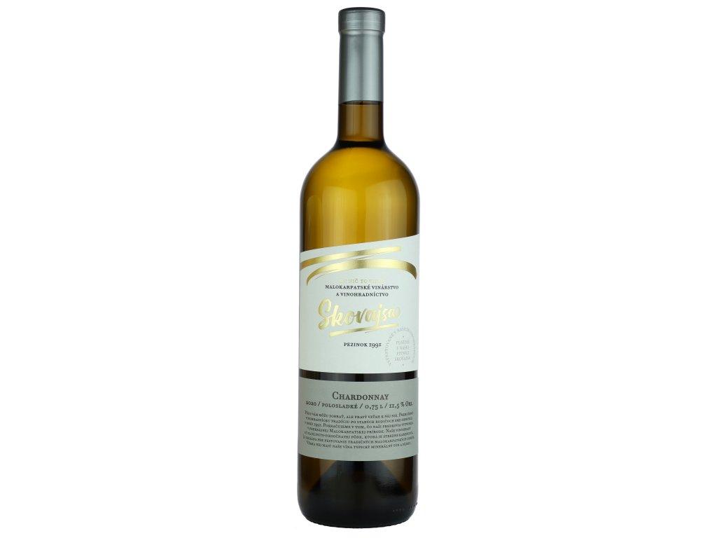 Skovajsa - Chardonnay 2020 - Bílé víno - Jakostní víno VOC