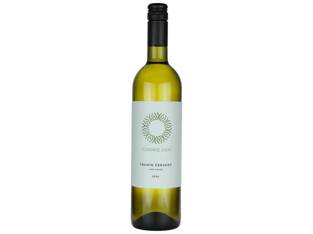 Carpate Diem - Tramín červený 2020 - Bílé víno - Jakostní víno VOC