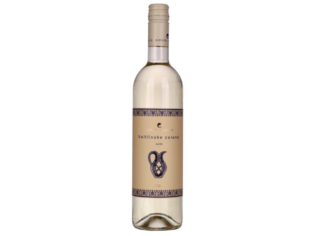Sykora Fine Wines - Veltlínské Zelené 2020 - Bílé víno - Kabinetní víno