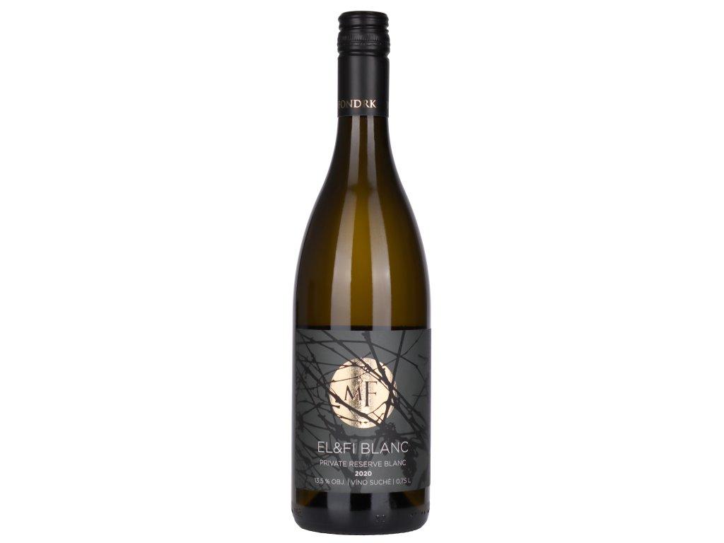 Miro Fondrk - EL&FI blanc 2020 - Bílé víno - Jakostní víno