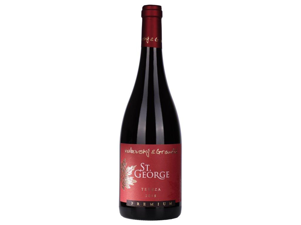 Dubovský & Grančič - Tereza 2018 - St. George edition - Červené víno - Jakostní víno
