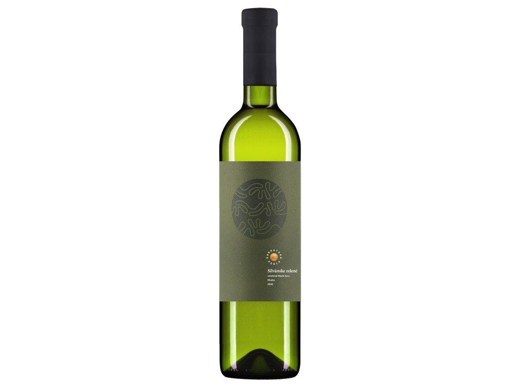 Karpatská Perla - Silvánske zelené - Staré hory 2020 - Bílé víno - Jakostní víno VOC