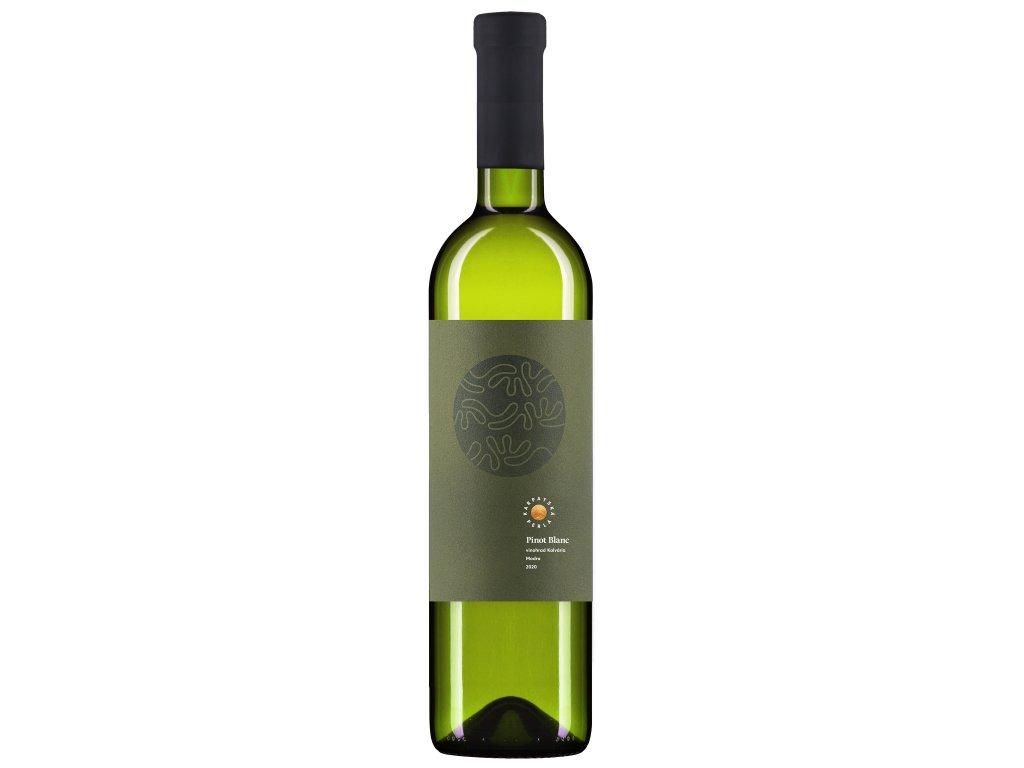 Karpatská Perla - Pinot Blanc - Rulandské biele - Kalvária 2020 - Bílé víno - Jakostní víno VOC