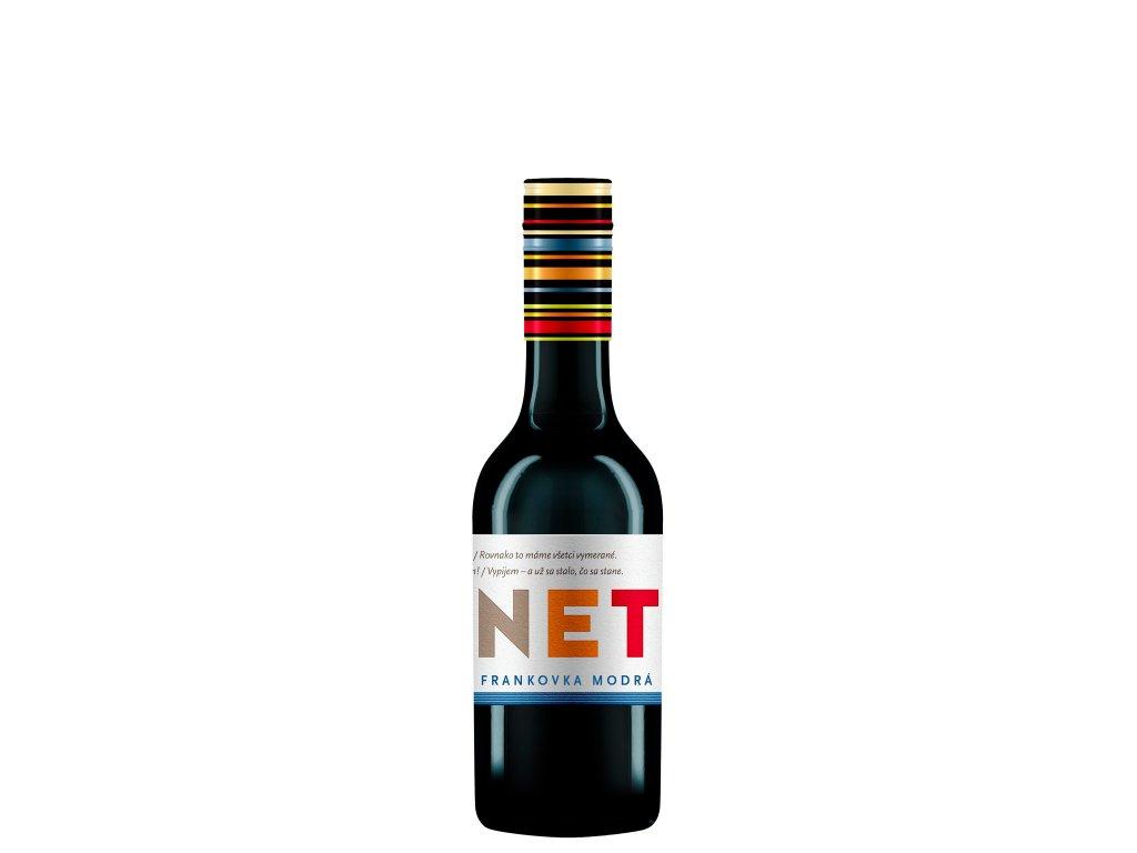 Karpatská Perla - Frankovka modrá 0,25L - Mini Jagnet 2017  - Červené víno - Jakostní víno VOC