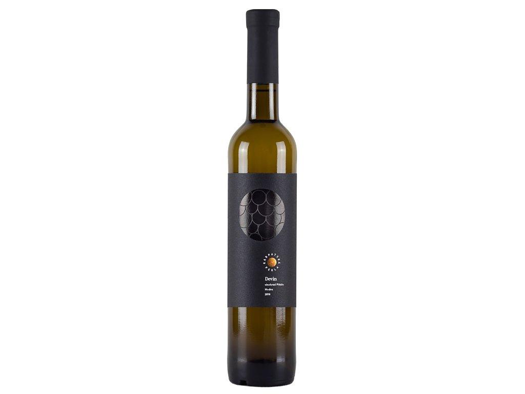 Karpatská Perla - Devín - Plázle - 0,5L 2018 - Bílé víno - Výběr z bobulí