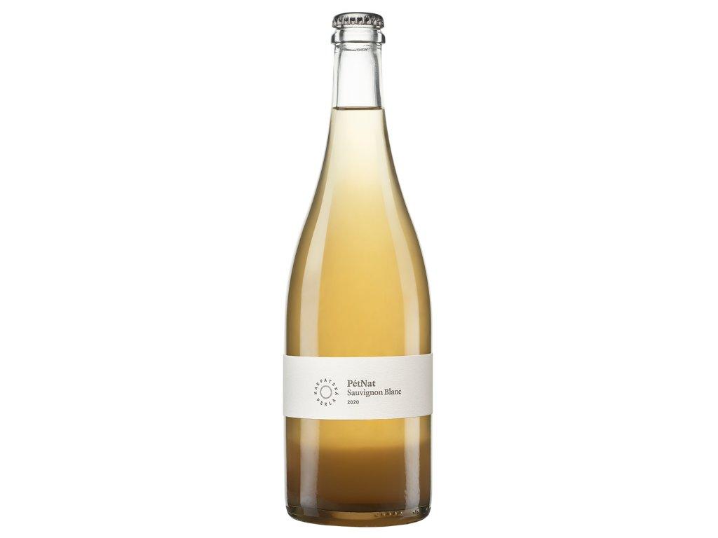 Karpatská Perla - Sauvignon blanc - PétNat 2020 - Šumivé víno - Jakostní víno