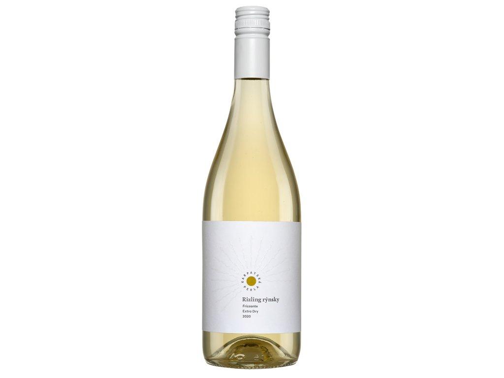 Karpatská Perla - Rizling rýnsky 2020 - Šumivé víno - Jakostní víno