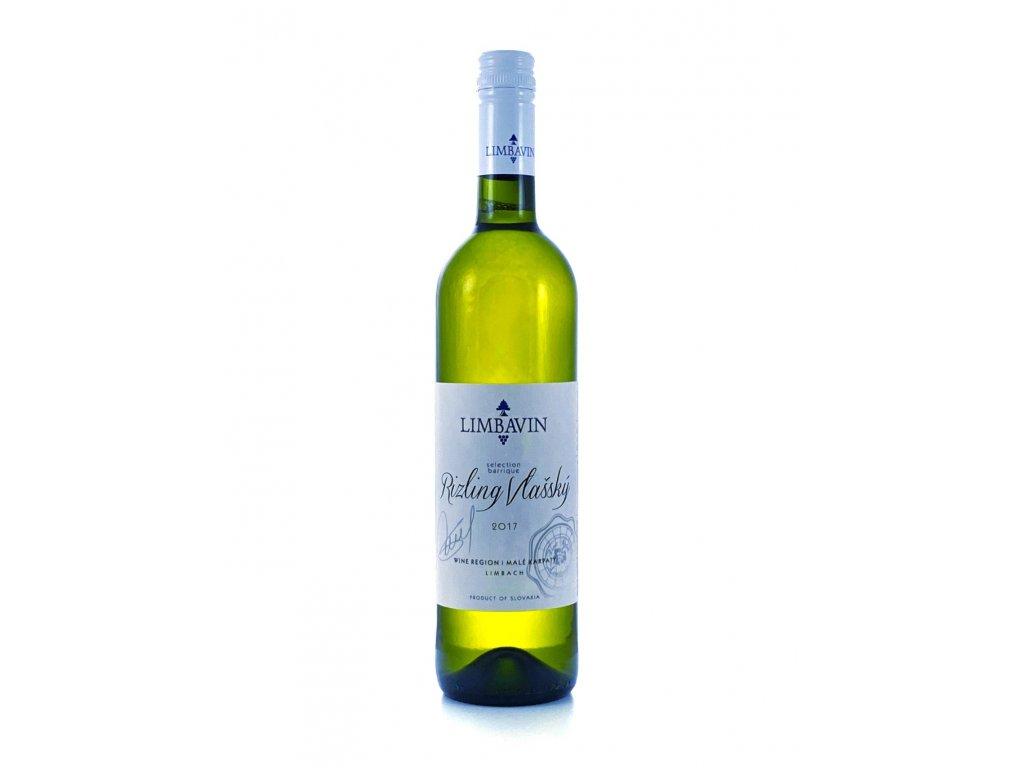 Limbavin - Ryzlink vlašský 2017 - Barrique - Bílé víno - Jakostní víno