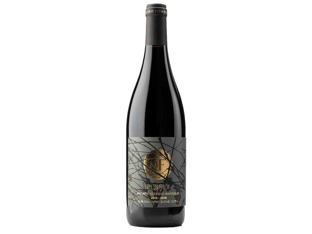 Miro Fondrk - Petit EL&FI II. - Červené víno - Jakostní víno