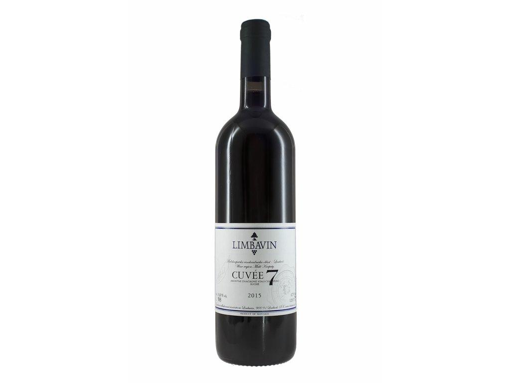 Limbavin - Cuvée 7 2017 - Barrique - Červené víno - Jakostní víno