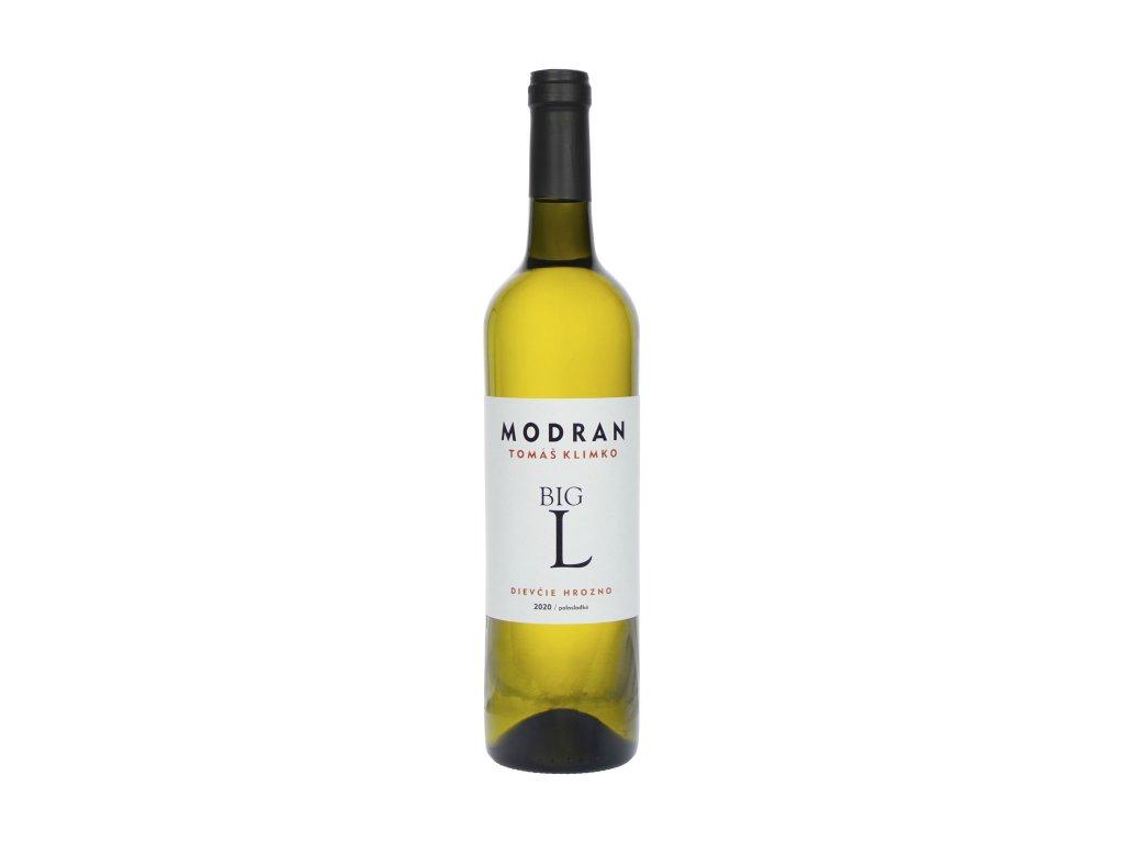 Modran Klimko Wine - Dievčie hrozno 2020  - Bílé víno - Jakostní víno