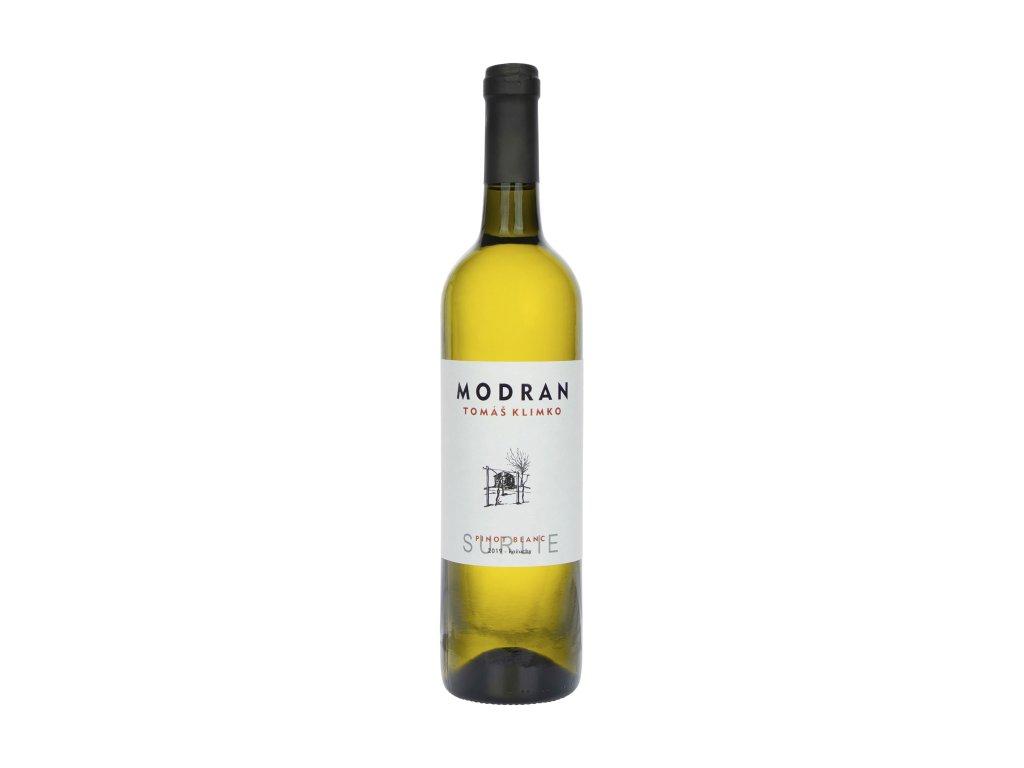 Modran Klimko Wine - Pinot blanc 2019 - SUR LIE  - Bílé víno - Jakostní víno