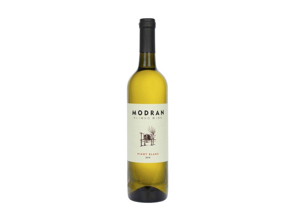 Modran Klimko Wine - Pinot blanc 2018  - Bílé víno - Jakostní víno