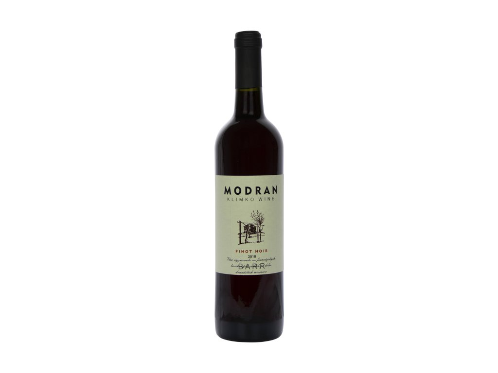 Modran Klimko Wine - Pinot noir 2018  - Červené víno - Jakostní víno