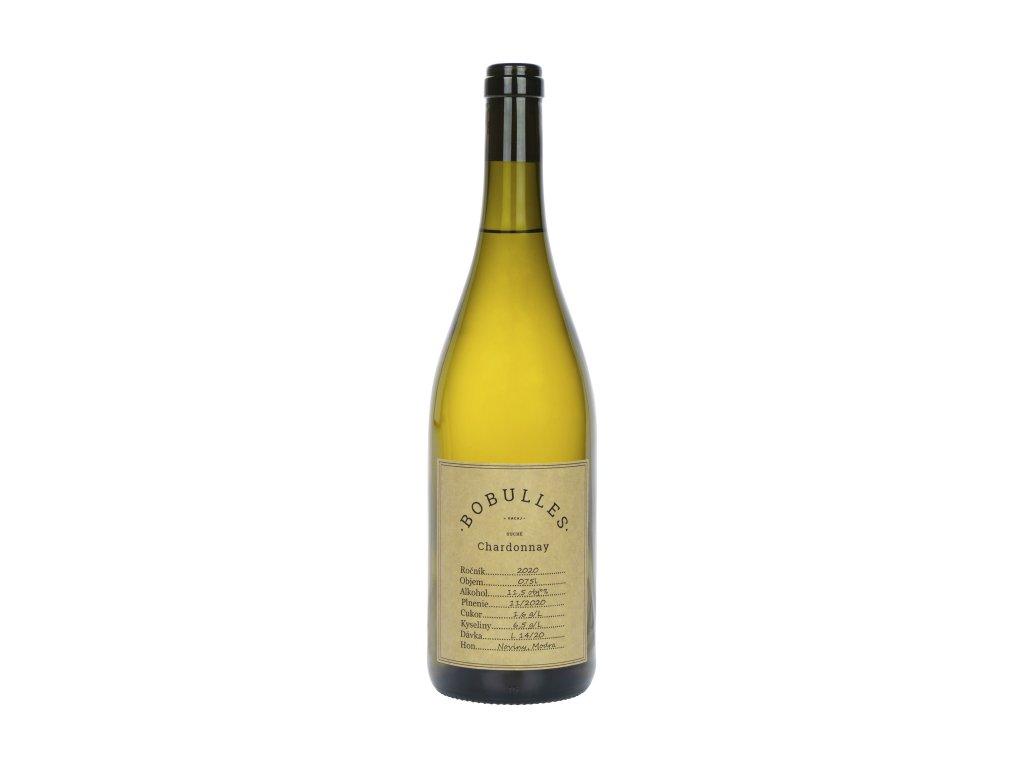 Bobulles - Chardonay 2020 - Bílé víno - Jakostní víno VOC